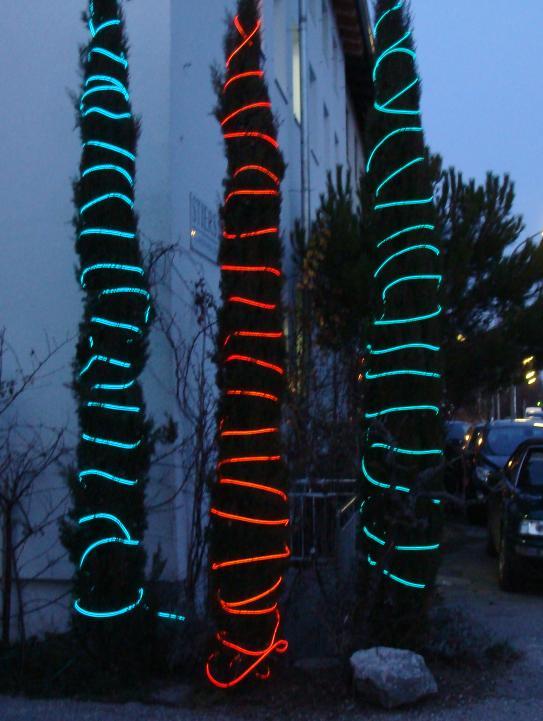 Leuchtschnur, Lichtschlauch, Neonschnur, Flex-Neon, Leuchtstab ...