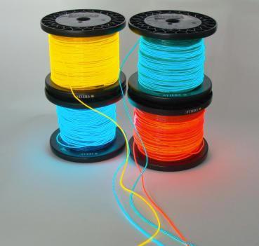 Leuchtschnur Lichtschlauch Neonschnur Flex Neon Leuchtstab